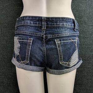 Rue 21 Jean Short Shorts, Juniors 5/6
